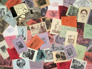 Harald Szeemann, Postkarten aus Sammlung pataphysischer Materialien