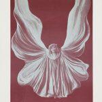 Loïe Fuller, Le Papillon de Nuit, 1912Reproduktion einer FotografieIn: Fantasio, Bd. 2, Dezember 1912, 19,5 x 28 cmKunstmuseen KrefeldFoto: Kunstmuseen Krefeld