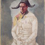 Pablo Picasso, Le peintre Salvado en arlequin, Paris 1923, 130 x 97cm, © Succession Picasso 2018 - Gestion droits d