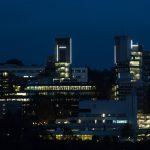 Mischa Kuball. MetaLicht. Lichtkunstprojekt für die Bergische Universität Wuppertal 1