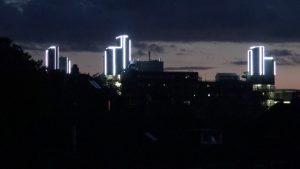 Mischa Kuball. MetaLicht. Lichtkunstprojekt für die Bergische Universität Wuppertal 3