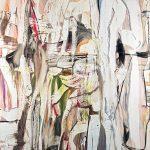 SETAREH GALLERY, Gregor Gleiwitz, 18.01.2019., 2019, Öl auf Leinwand. 265,5 x 199,9 cm
