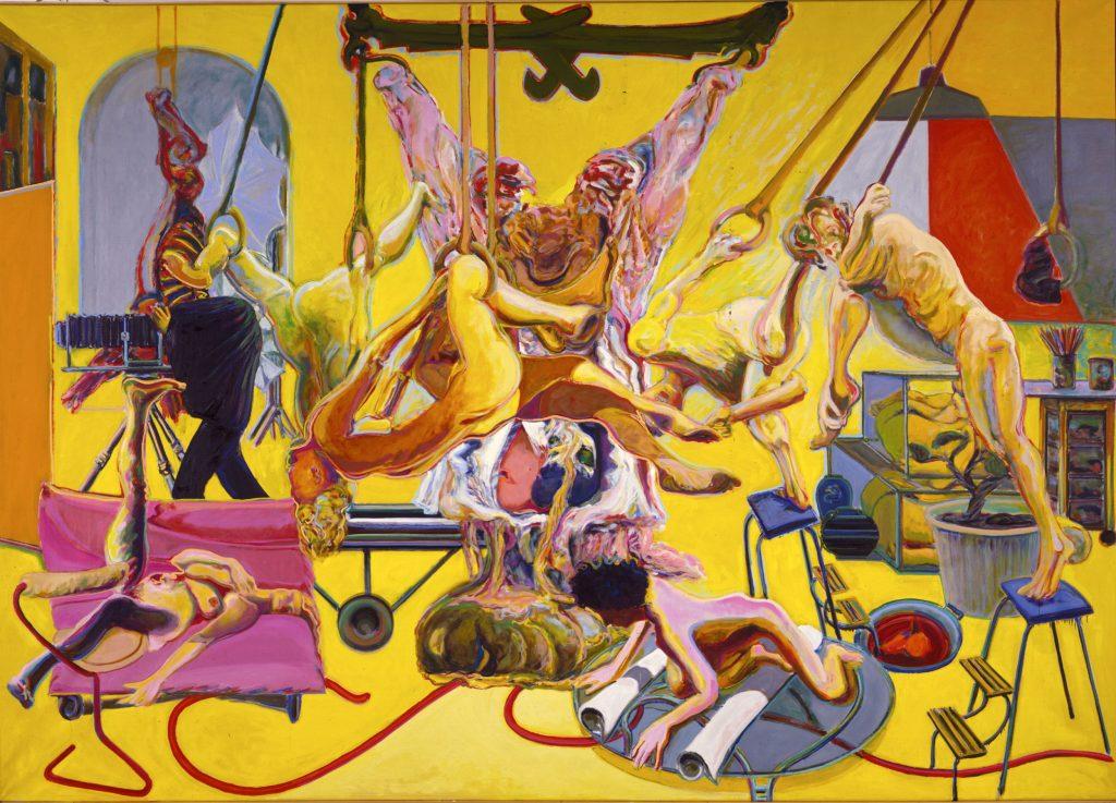 Gelbes Atelier, 1985
