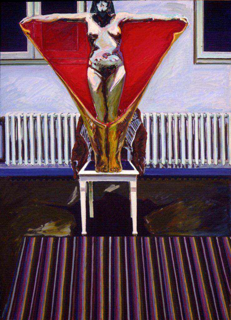 Sakral-Raum mit Flieger, 1971