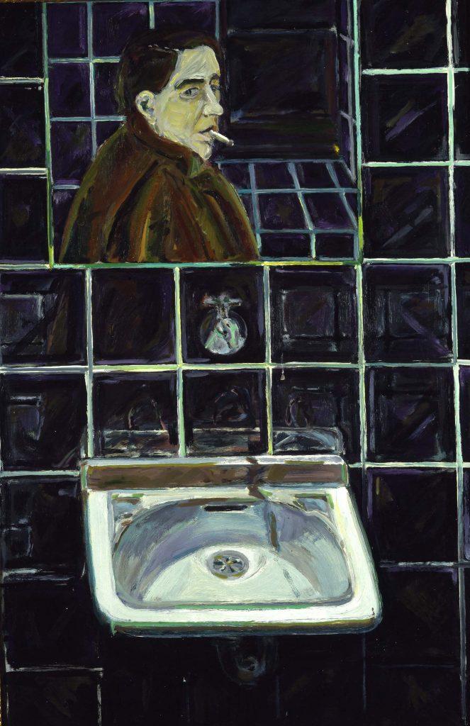 Selbstbildnis im Spiegel, 1966