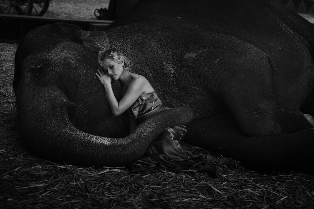 Reese Witherspoon, Vogue US, La Circus, Los Angeles, California, USA, 2011. © Peter Lindbergh courtesy SchirmerMosel